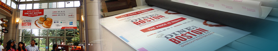 Large Format Printing for Events Boston MA