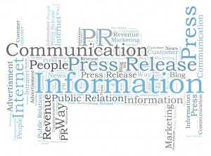 Public Relation word cloud