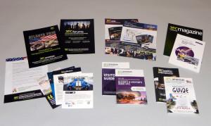 JEC printed Tradeshow materials