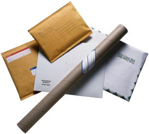 shipping printed materials